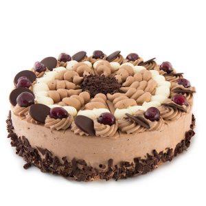 Chocolade-creme-taart